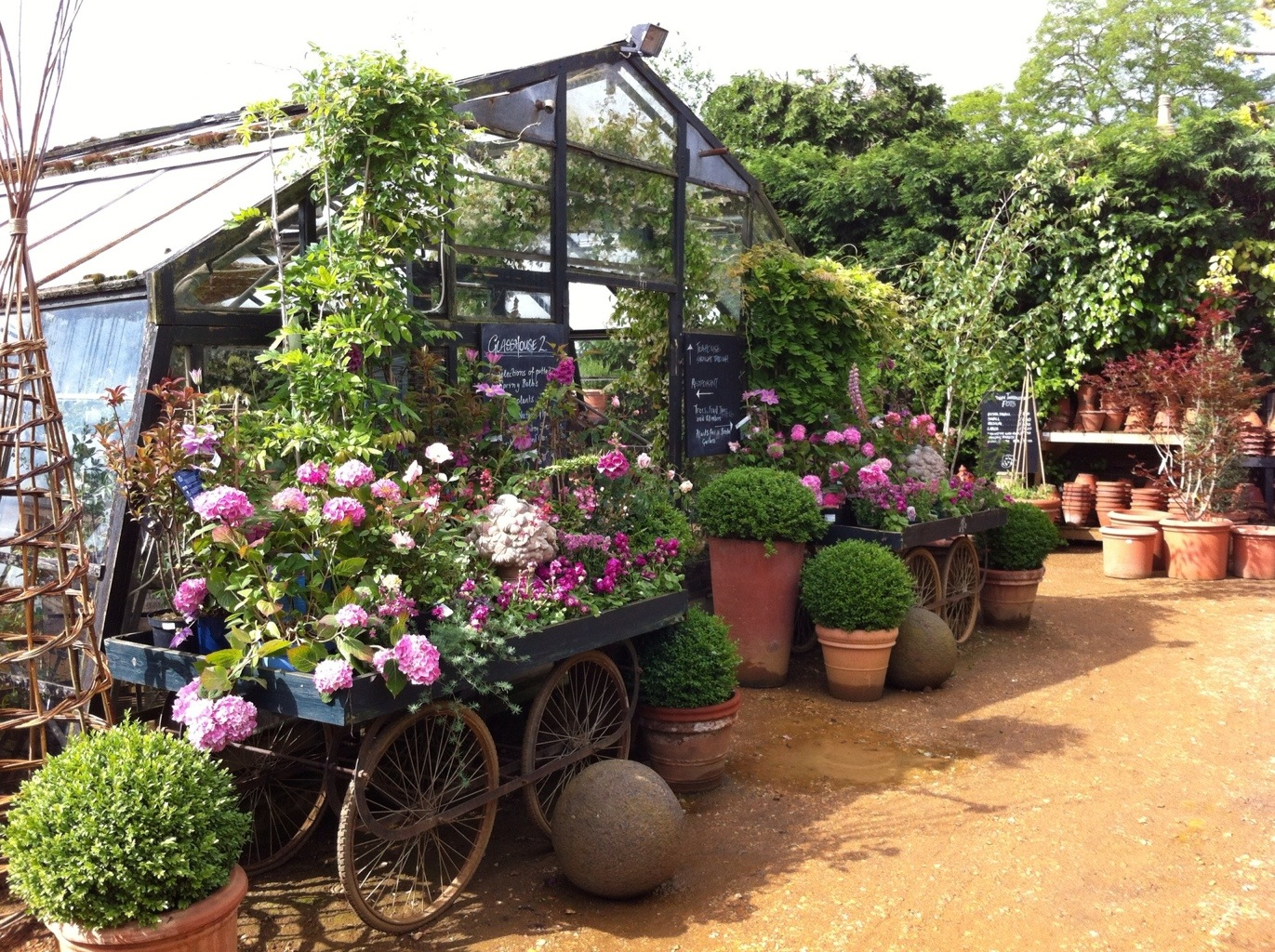 The Incomparable Petersham Nurseries The Frustrated Gardener