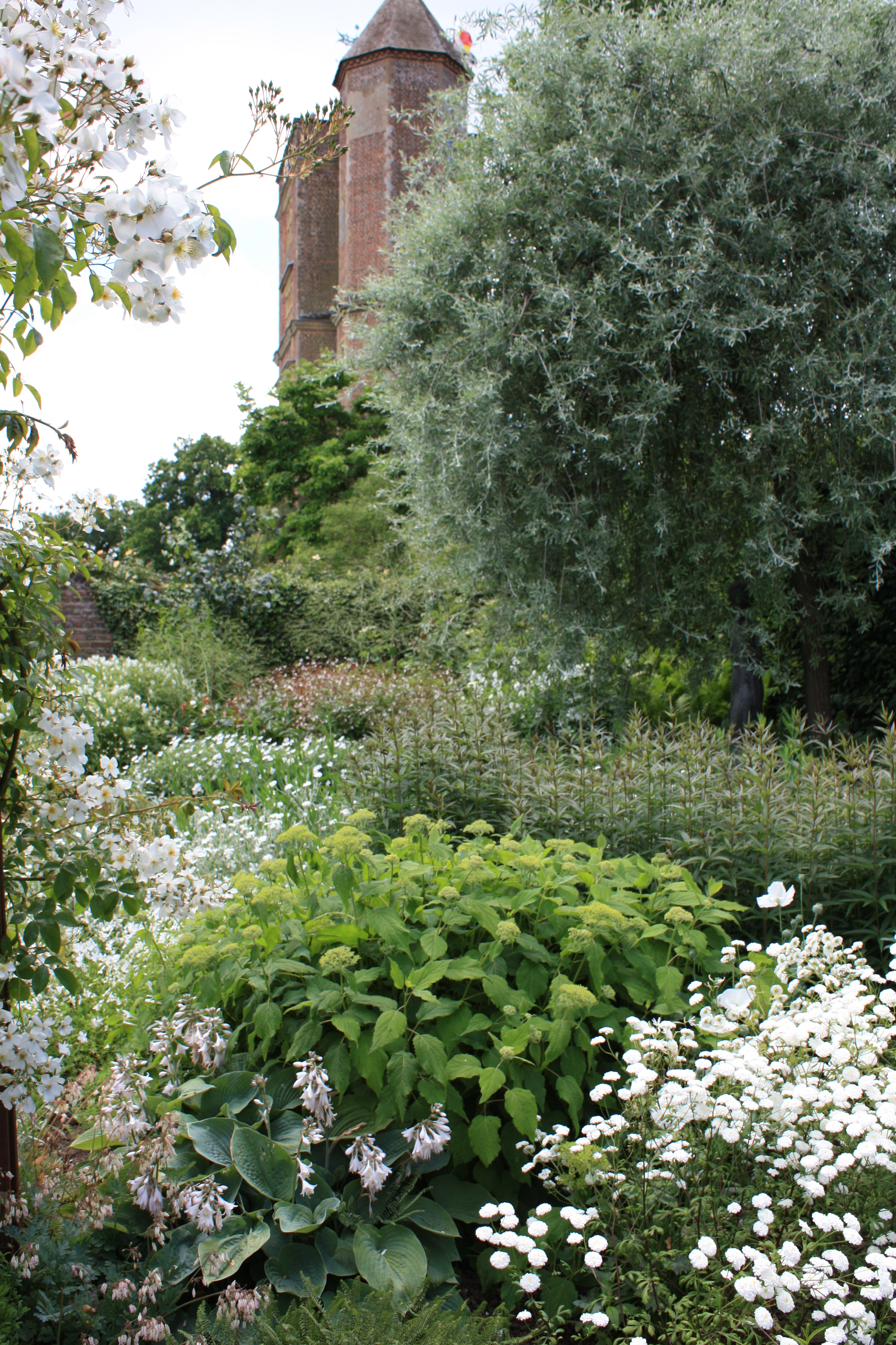 sensational sissinghurst part 2 white heat the frustrated gardener. Black Bedroom Furniture Sets. Home Design Ideas