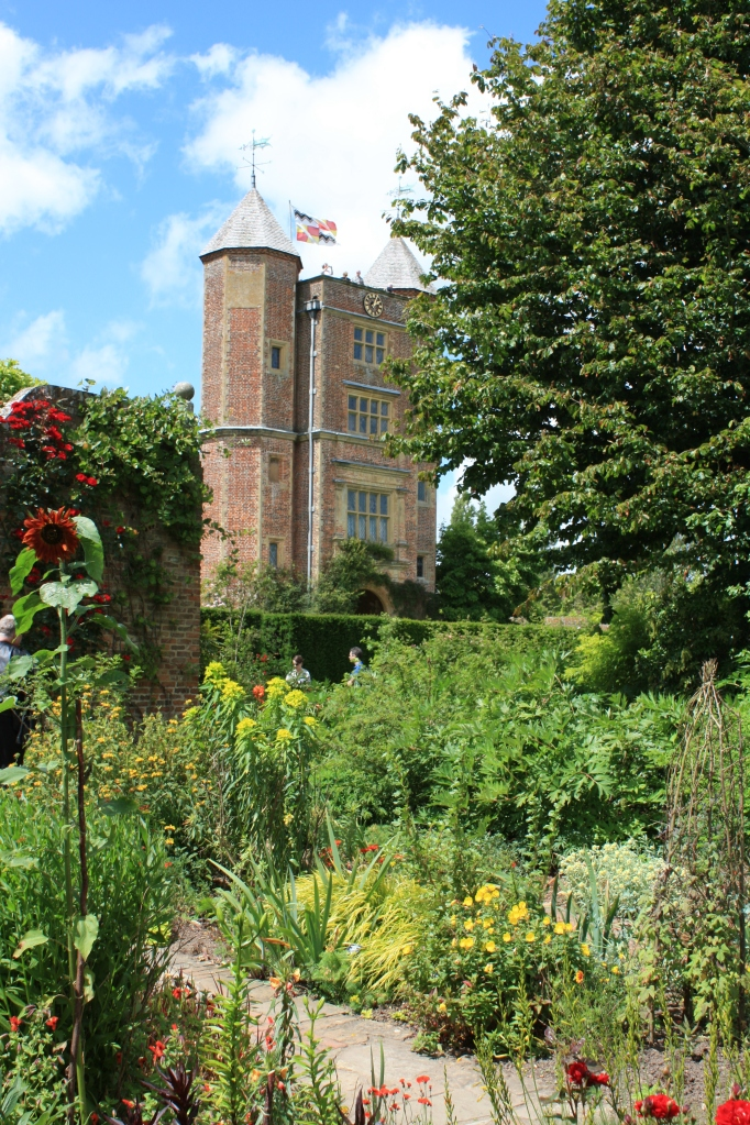 The tower from the cottage garden