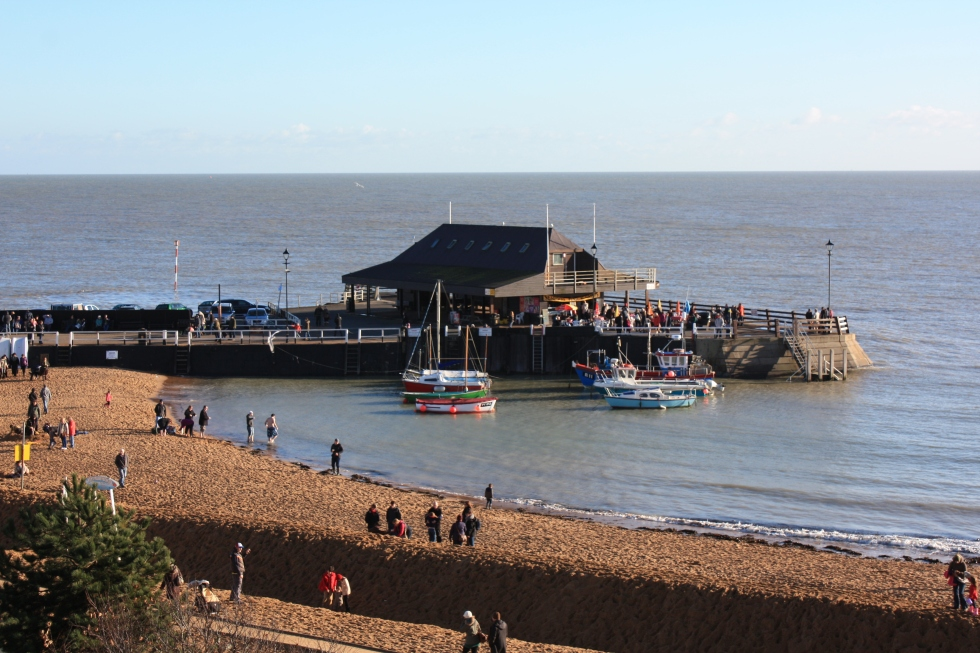 Broadstairs harbour