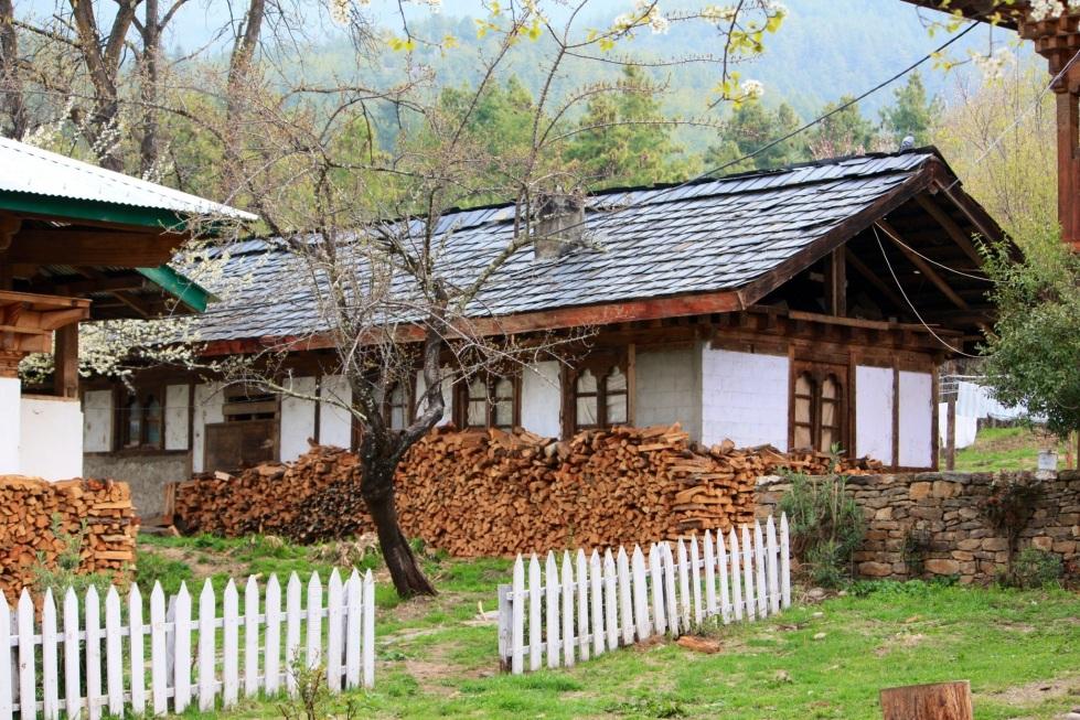 The Swiss Guesthouse, Bumthang, Bhutan, April 2013