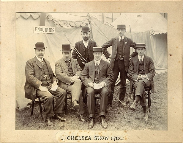 RHS Judges at Chelsea in 1913