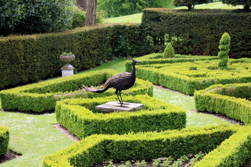 The Peacock Garden, Houghton Lodge, Hampshire