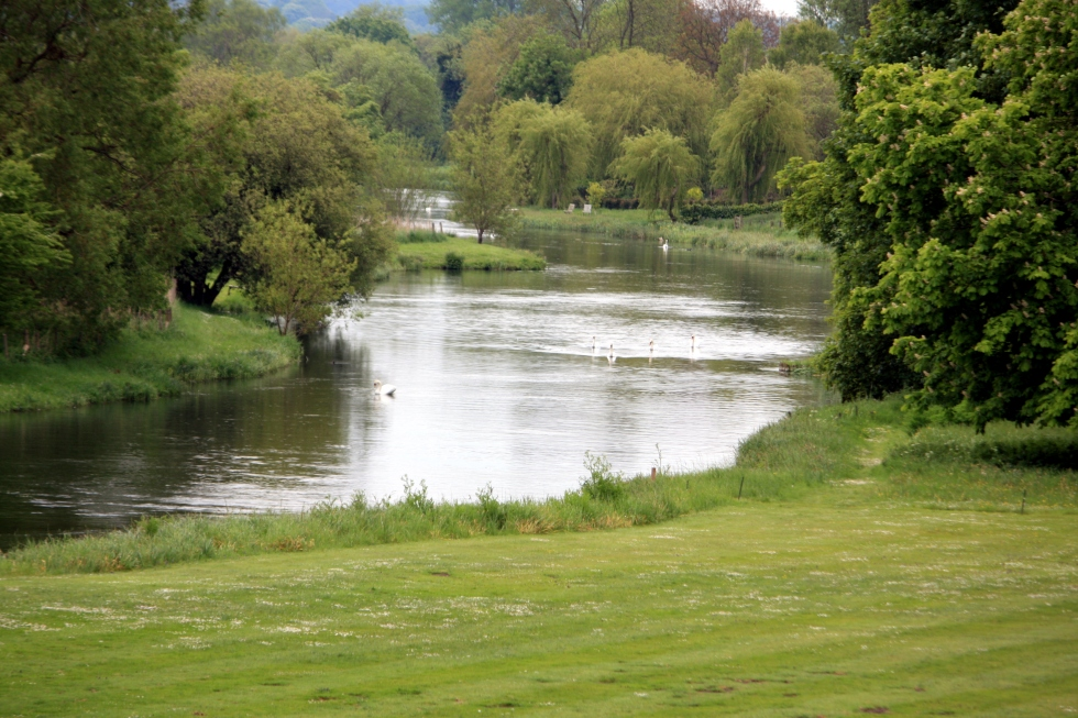 The River Test at Houghton Lodge, Hampshire