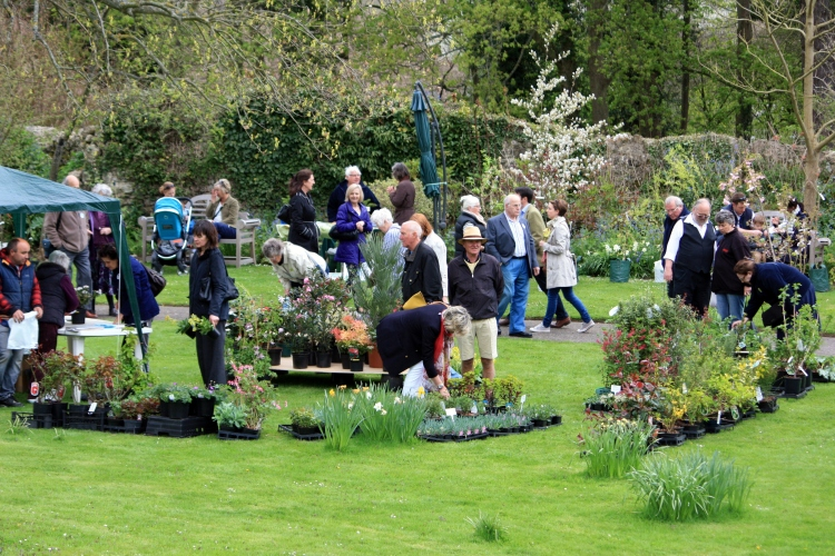NSPCC Plant Fair, Saltwood Castle, May 2013