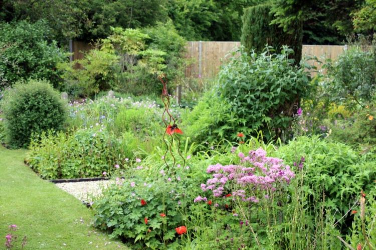 General view, Windy Ridge gardens, Kent