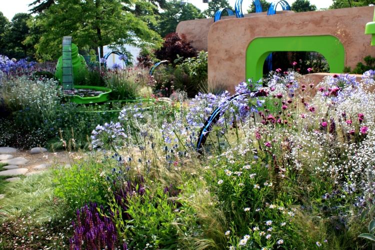 The Ecover Garden designed by Matthew Childs, Hampton Court 2013