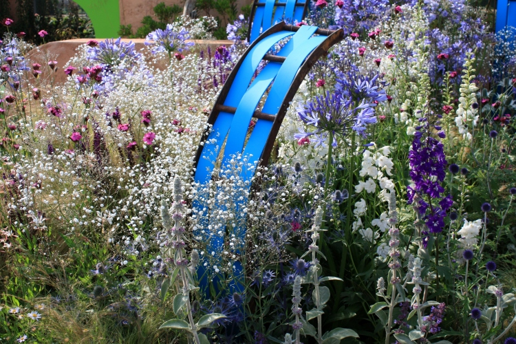 The Ecover Garden designed by Matthew Childs, Hampton Court 2013
