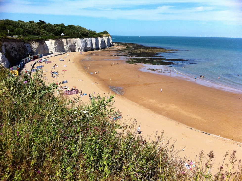 Stone Bay, Broadstairs, Aug 2013