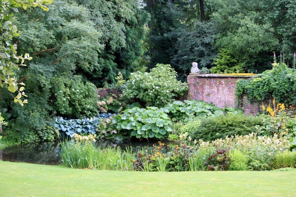 Garden Pond, Wallington Hall, Northumberland, July 2013