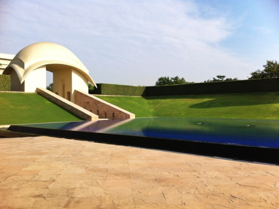 Forecourt, Trident Hotel Gurgaon, India