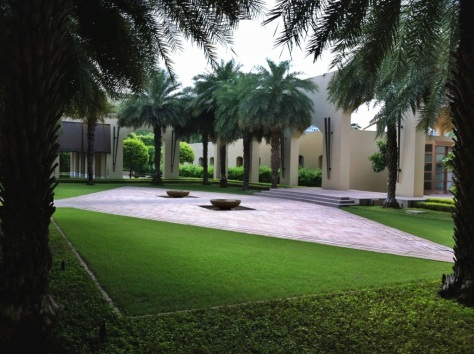 Courtyard, The Trident, Gurgaon, India