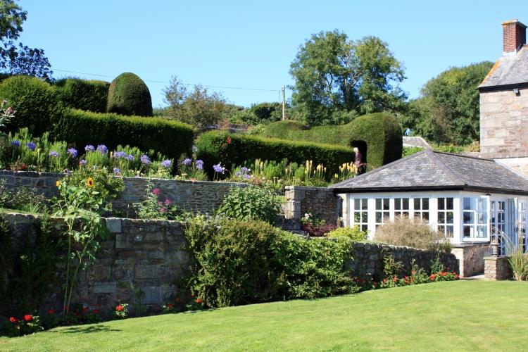 Trenarth Gardens, Constantine, Cornwall, August 2013