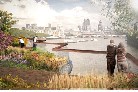 The Garden Bridge, Thomas Heatherwick