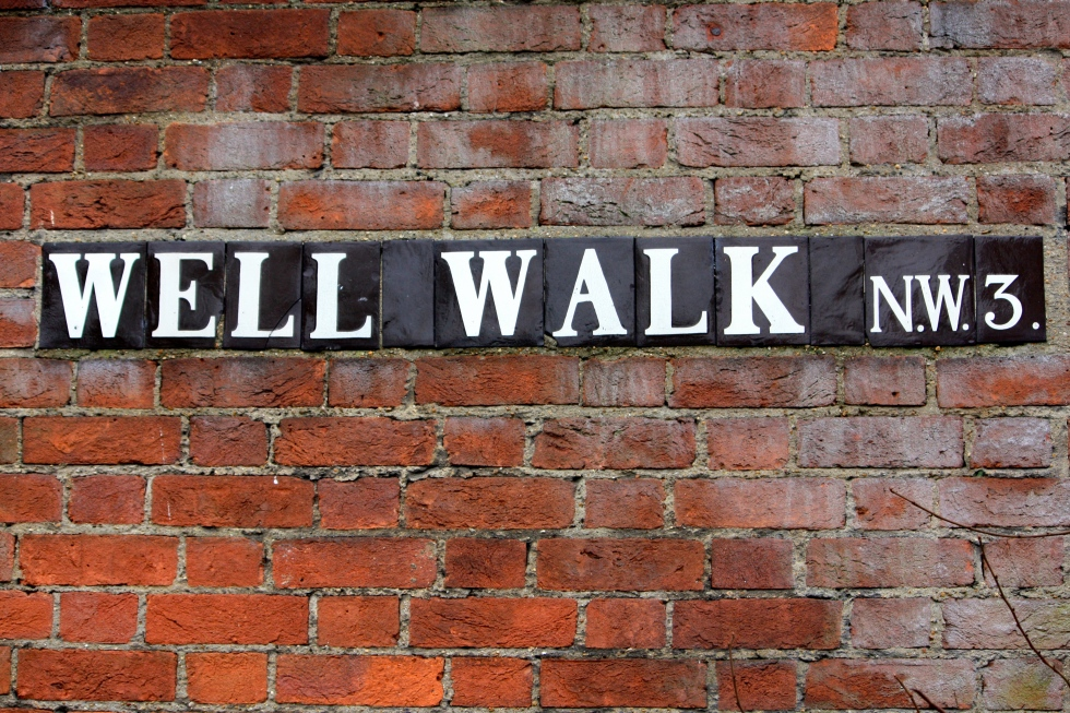 Well Walk, Hampstead, Boxing Day 2013