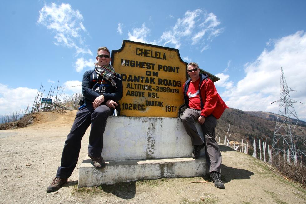 At the Chele La Pass, Eastern Bhutan, April 2013