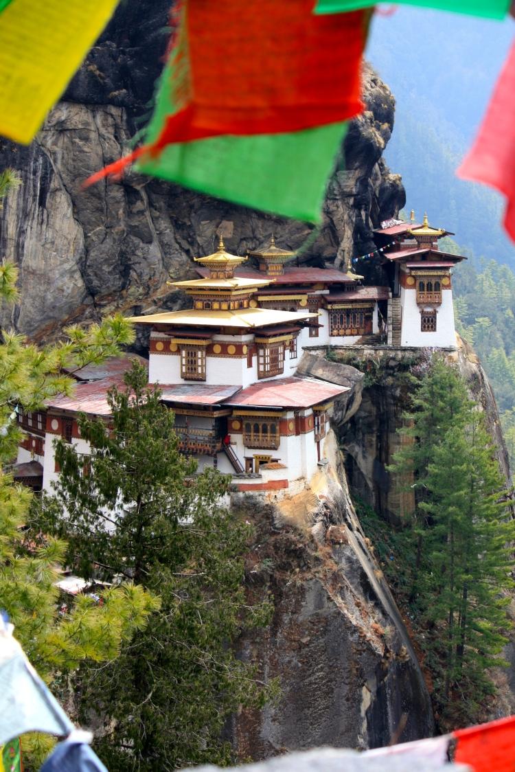 The Tiger's Nest, Bhutan, April 2013