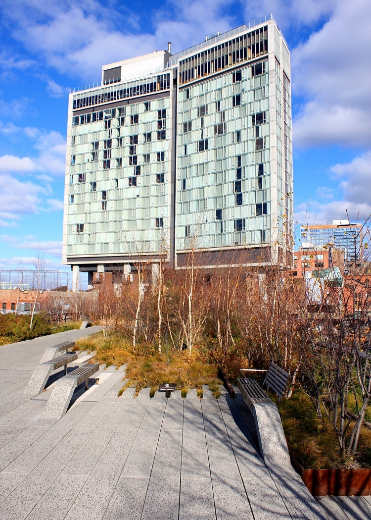High Line Park at The Standard Hotel, New York City, Christmas 2010