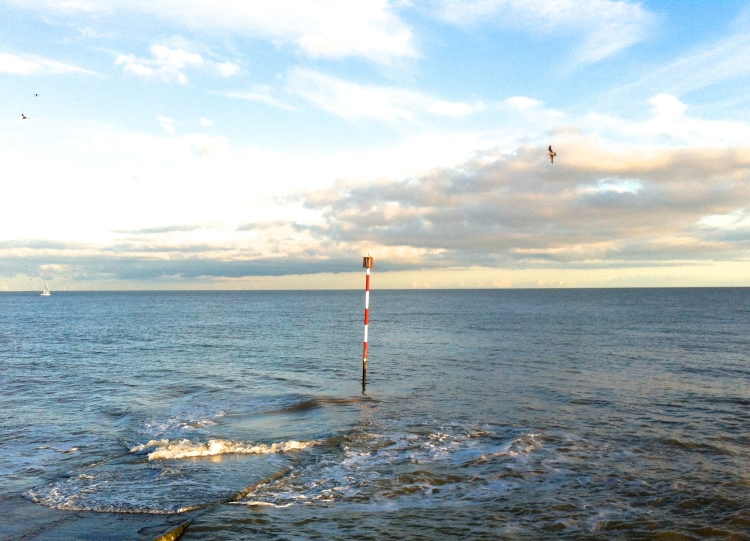 End of the pier, Broadstairs harbour, Jan 2014