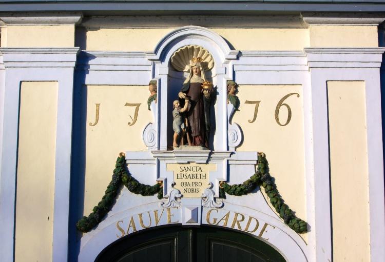 Entrance to the béguinage, Bruges, Feb 2014