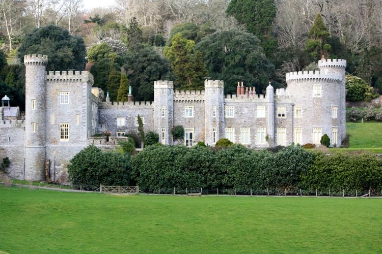 Caerhays Castle, February 2014