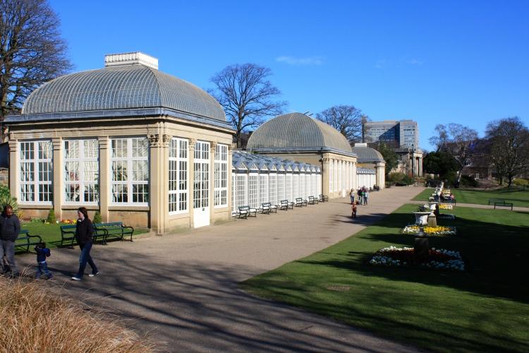 The Pavillions, Sheffield Botanical Gardens, March 2014
