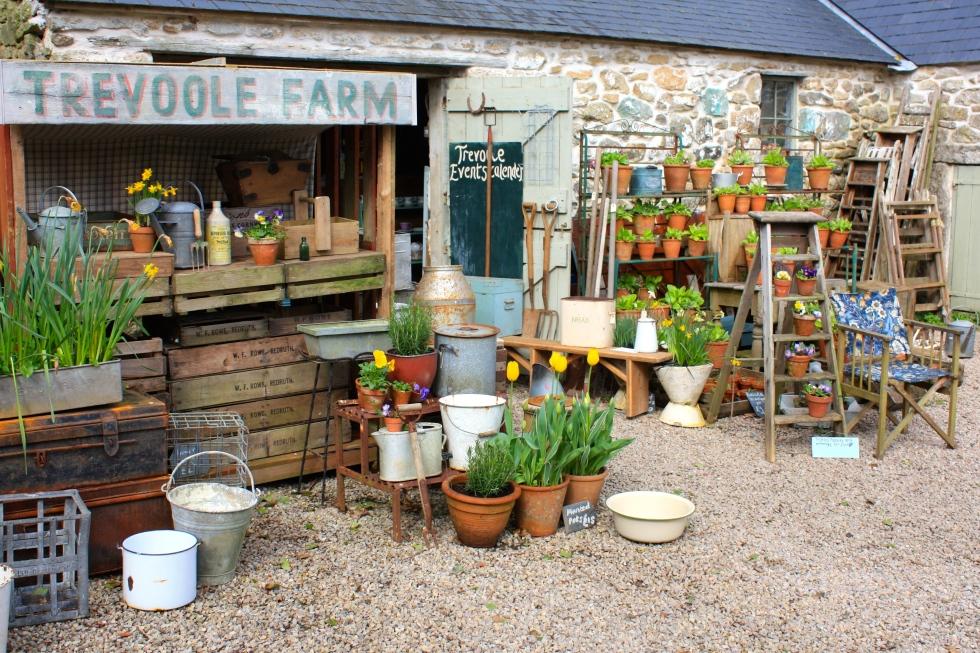 Trevoole Farm Vintage Shop, April 2014