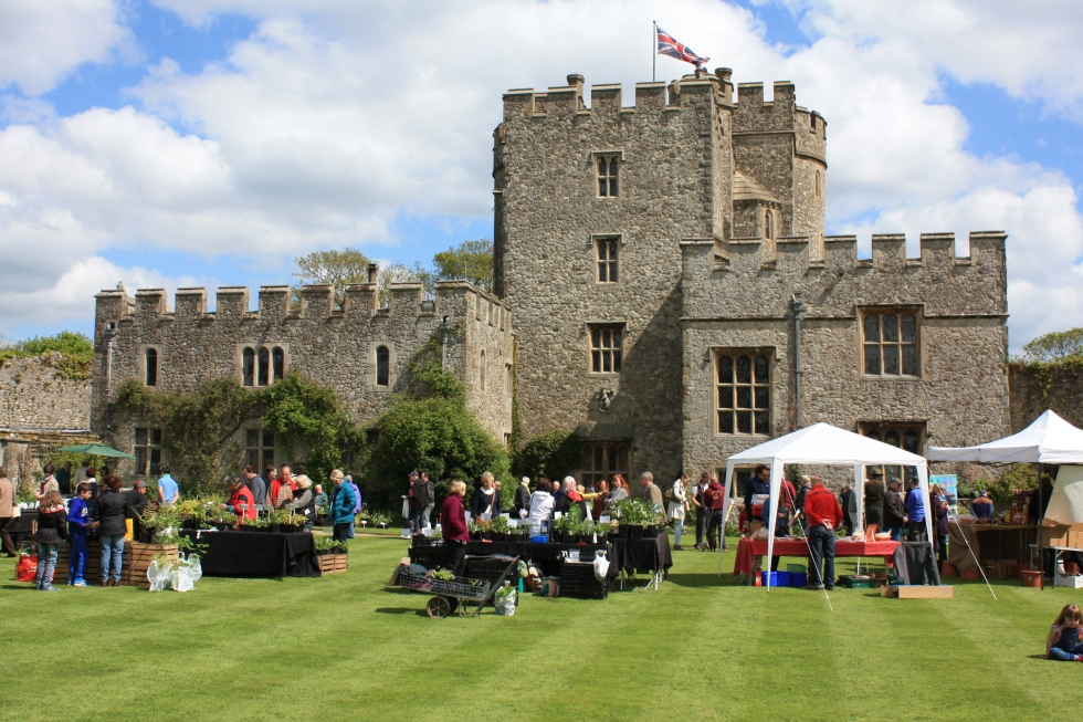 NSPCC Plant Fair, Saltwood Castle, April 2014