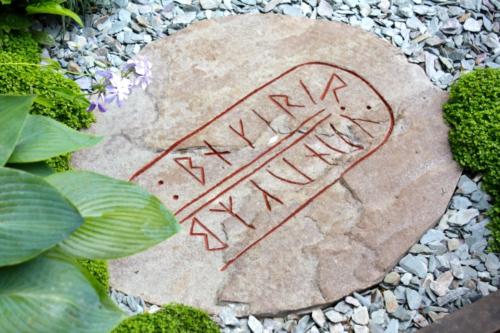 The Viking Cruises Norse Garden, Chelsea 2014