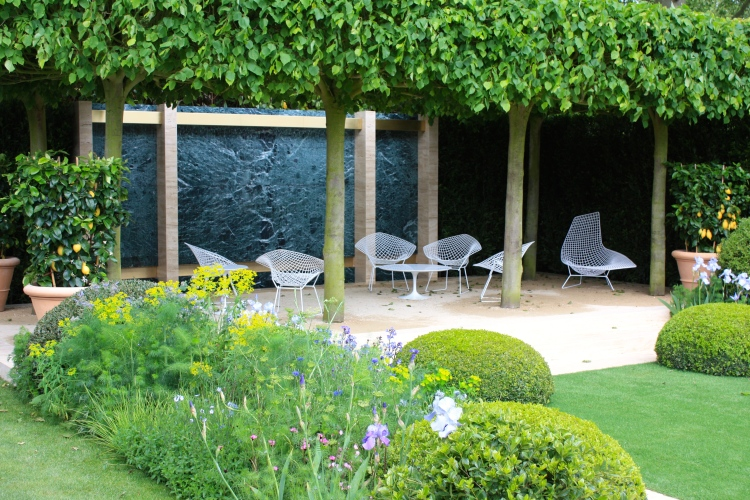 The Telegraph Garden designed by del Buono Gazerwitz, Chelsea 2014