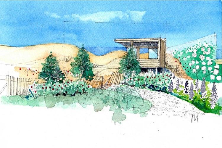 The Massachusetts Garden Designed by Susannah Hunter & Catherine MacDonald, Chelsea 2014