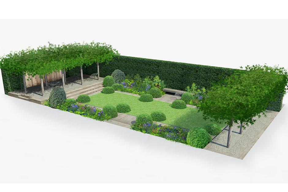 The Telegraph garden, Chelsea 2014