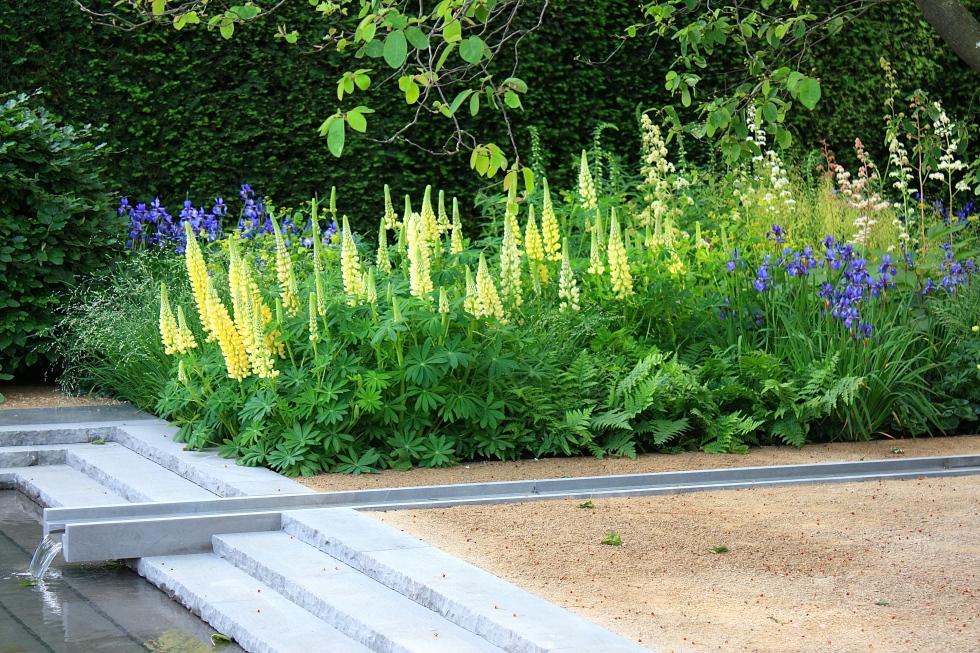 Detail of Luciano Giubbilei's Laurent Perrier Garden, Chelsea 2014