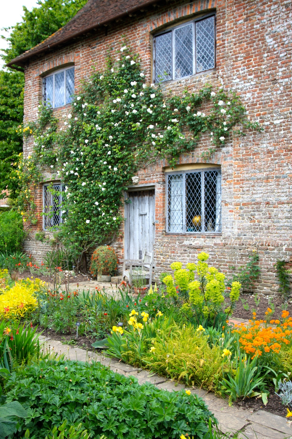 The Cottage Garden, Sissinghurst, May 2014