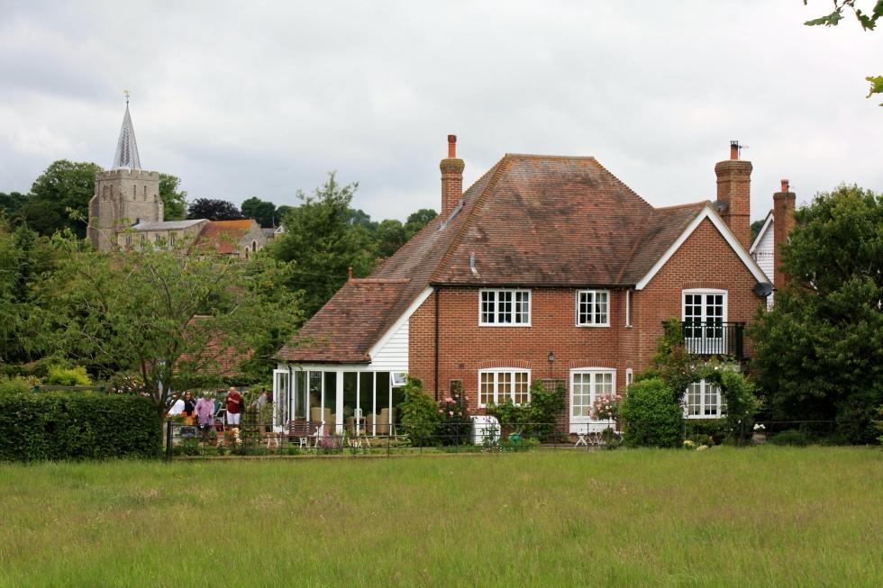 Sleepers Cottage, Elham, June 2014
