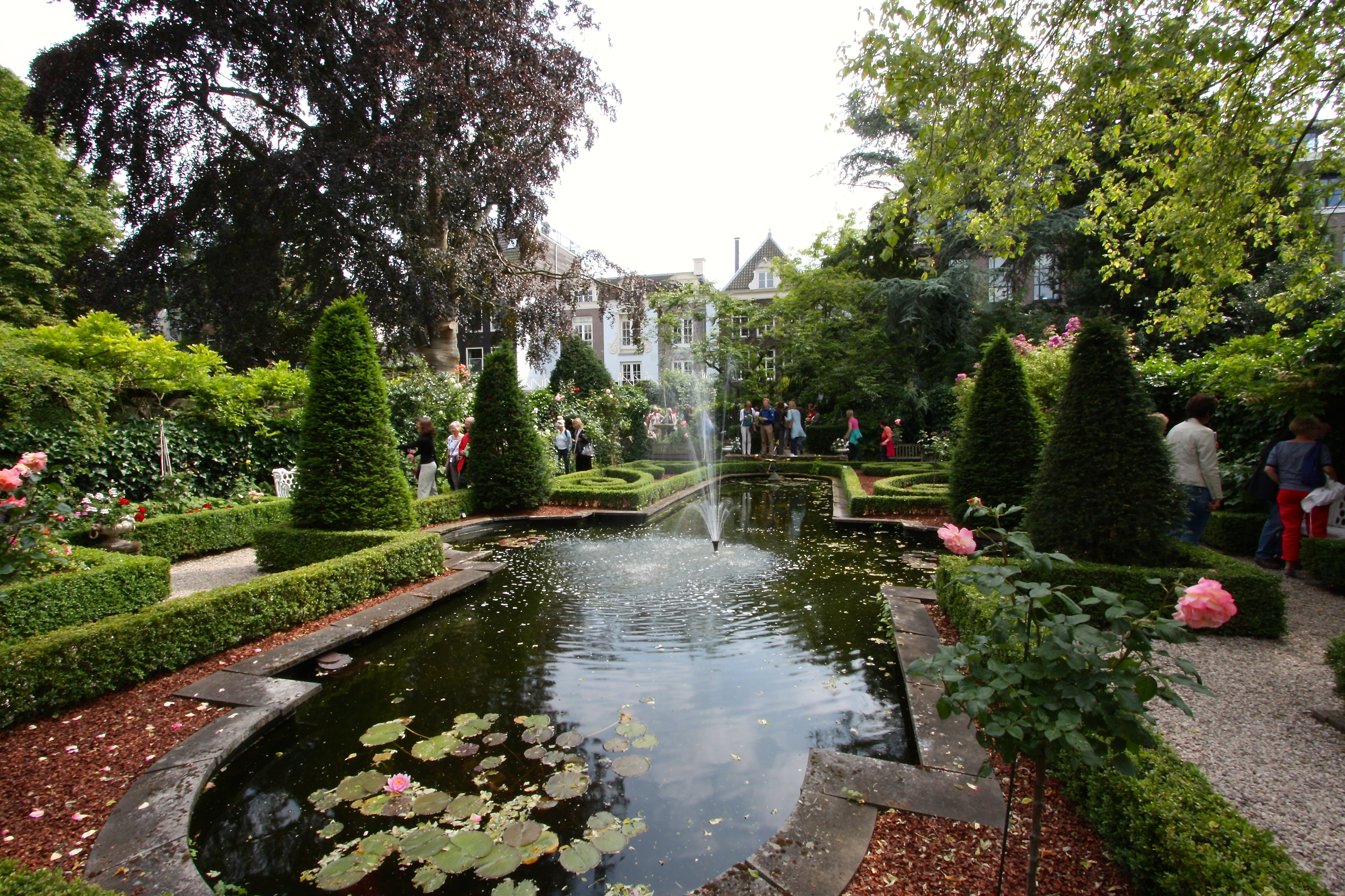 garden of the museum geelvinck amsterdam june 2014 - Amsterdam Garden