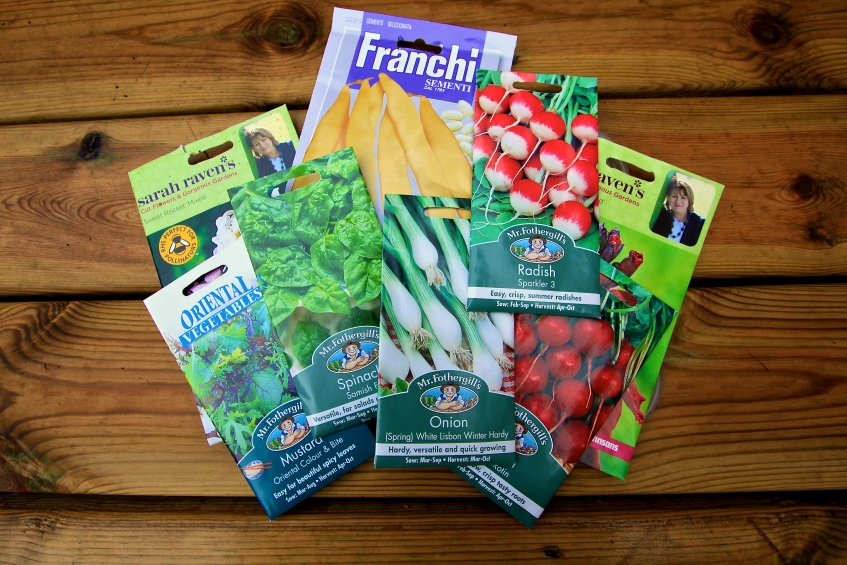 Seed packets, July 2014