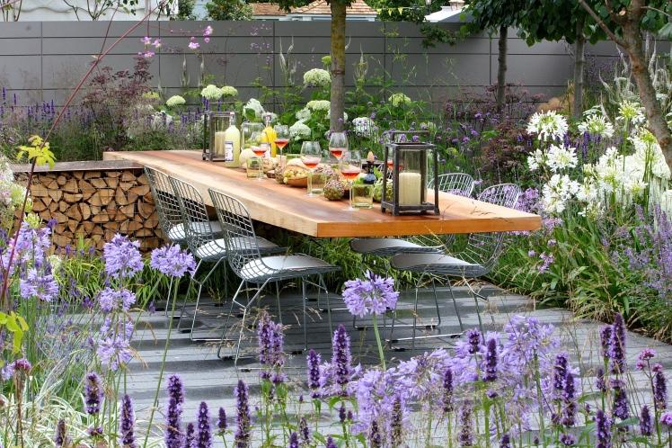 Vestra Wealth's Vista garden, Hampton Court Palace Flower Show 2014