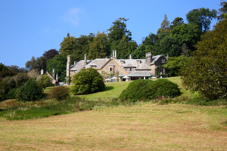 Viewed from the banks of the River Tamar, it's easy to understand the sixth Duchess of Bedford's passion for Endsleigh