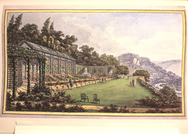 Repton hoped for a more imposing treatment to the long border and croquet lawn