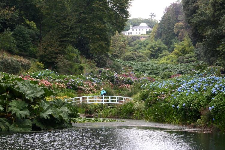 The new Monet-style bridge