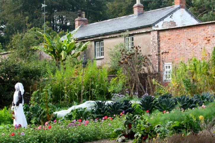 The gardener's cottage, Trengwainton, Cornwall, September 2014