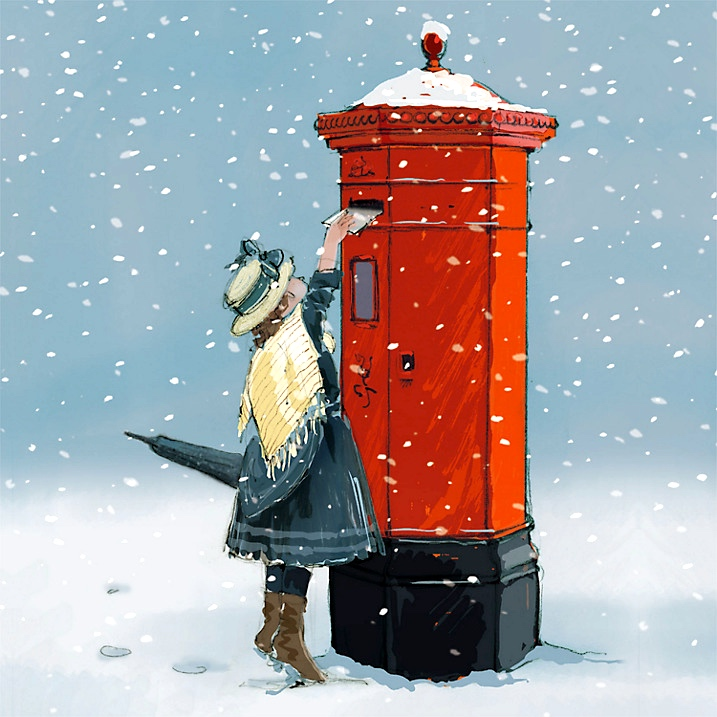 Paper House Letter to Santa Charity Cards