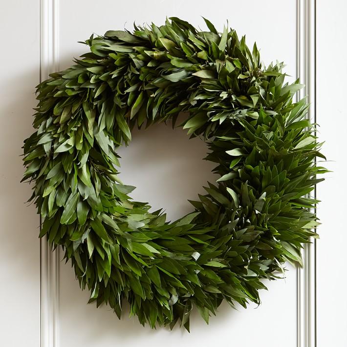 Williams Sonoma bay leaf wreath