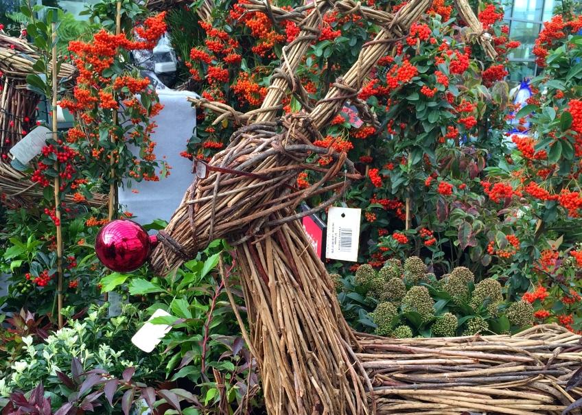 Bents garden centre Christmas display 2014