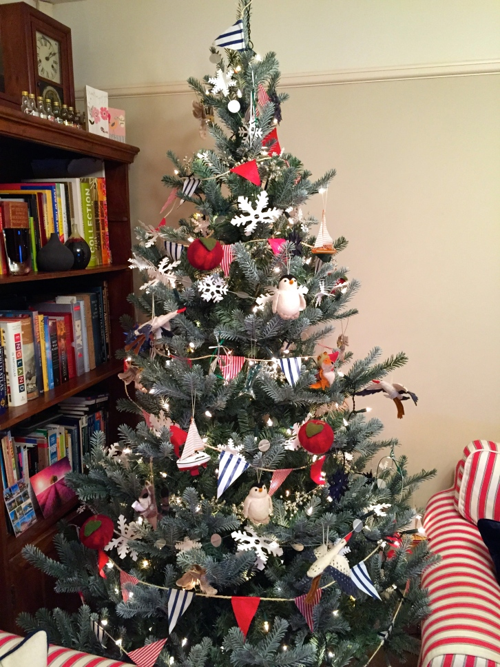 Our homely homemade Christmas tree