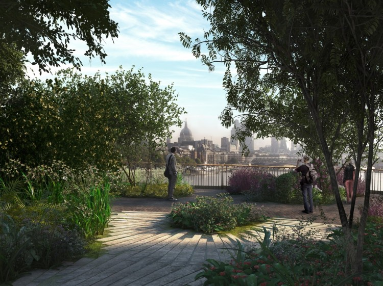 Critics claim that precious views towards St Paul's will be hidden rather than framed