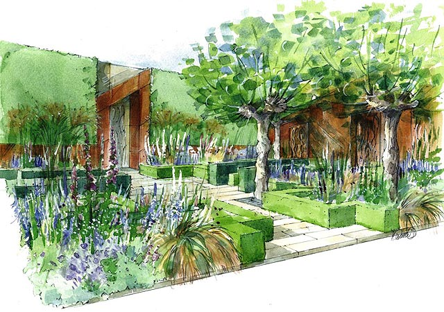 Chris Beardshaw's garden will be relocated to East London following the show