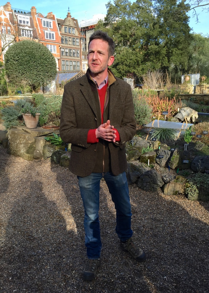 Nick Bailey, Head Gardener, Chelsea Physic Garden, February 2015