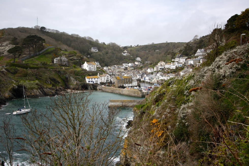 The Cornish Fishing Village of Polperro, April 2015
